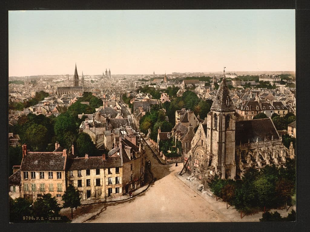 Caen_©Library of Congress Prints and Photographs Division_L'Happy mensuel
