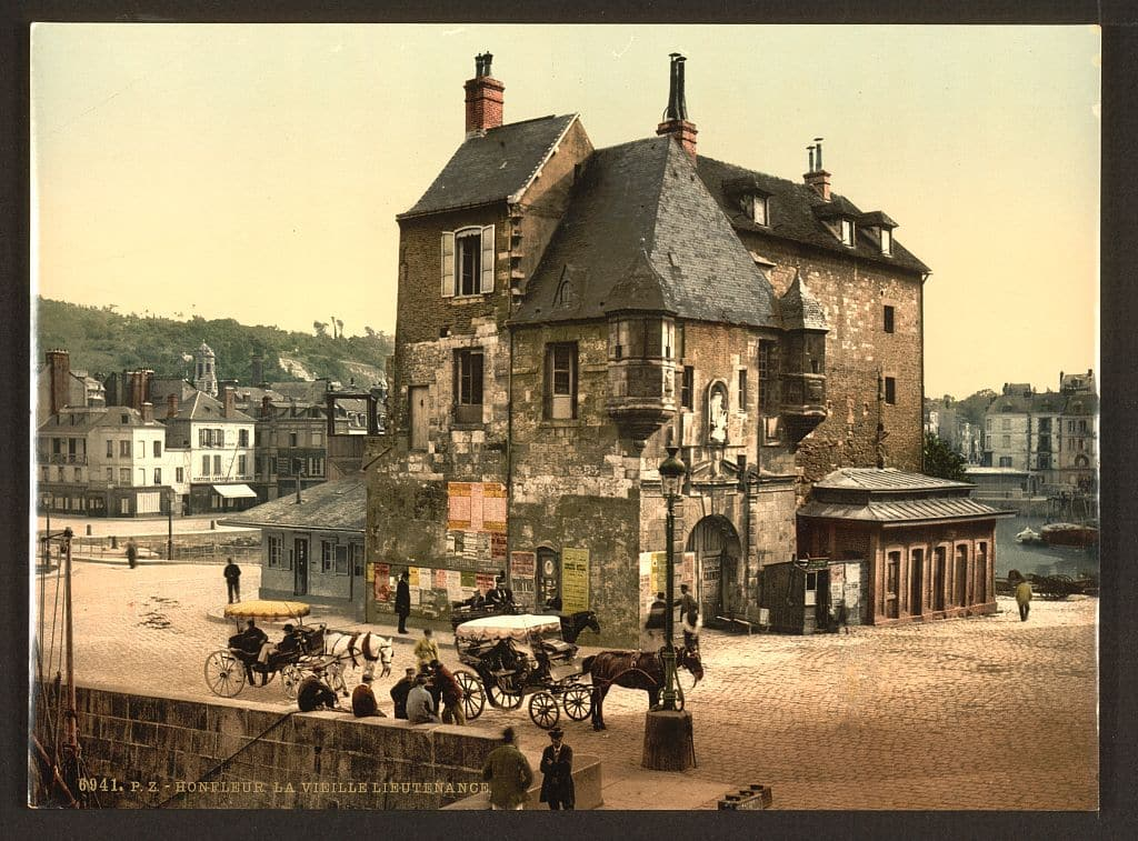 Honfleur_©Library of Congress Prints and Photographs Division_L'Happy mensuel