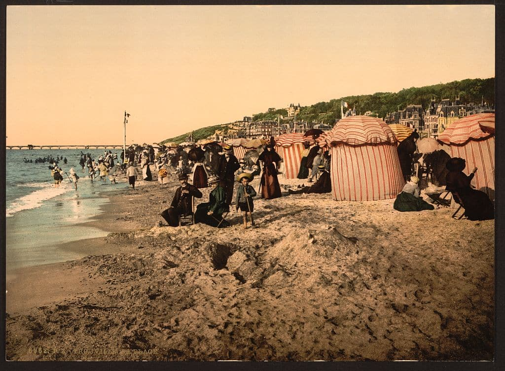 Trouville_©Library of Congress Prints and Photographs Division_L'Happy mensuel